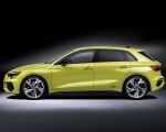 2021 Audi S3 Sportback (Color: Python Yellow) Side Wallpapers 150x120 (26)