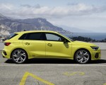 2021 Audi S3 Sportback (Color: Python Yellow) Side Wallpapers 150x120 (18)