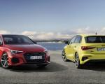 2021 Audi S3 Sportback (Color: Python Yellow) and 2021 Audi S3 Sedan Wallpapers 150x120 (10)