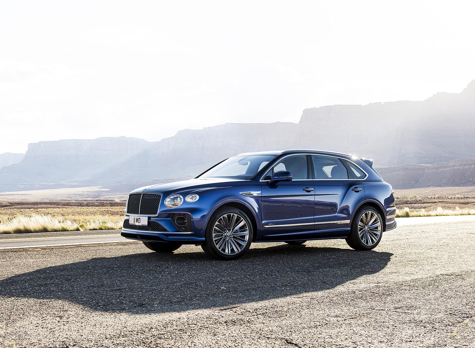 2021 Bentley Bentayga Speed Front Three-Quarter Wallpapers (7)