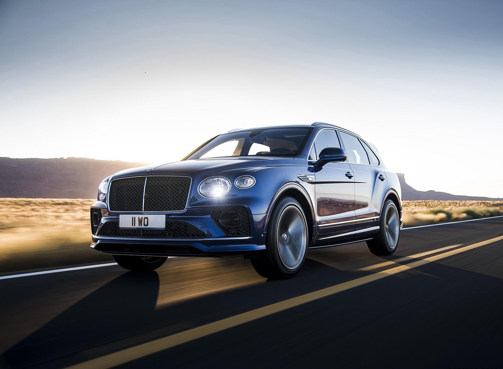 2021 Bentley Bentayga Speed Front Three-Quarter Wallpapers (1)