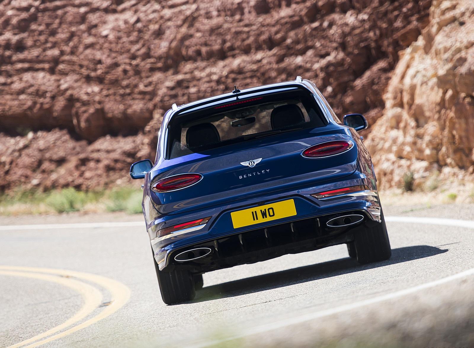 2021 Bentley Bentayga Speed Rear Wallpapers (4)