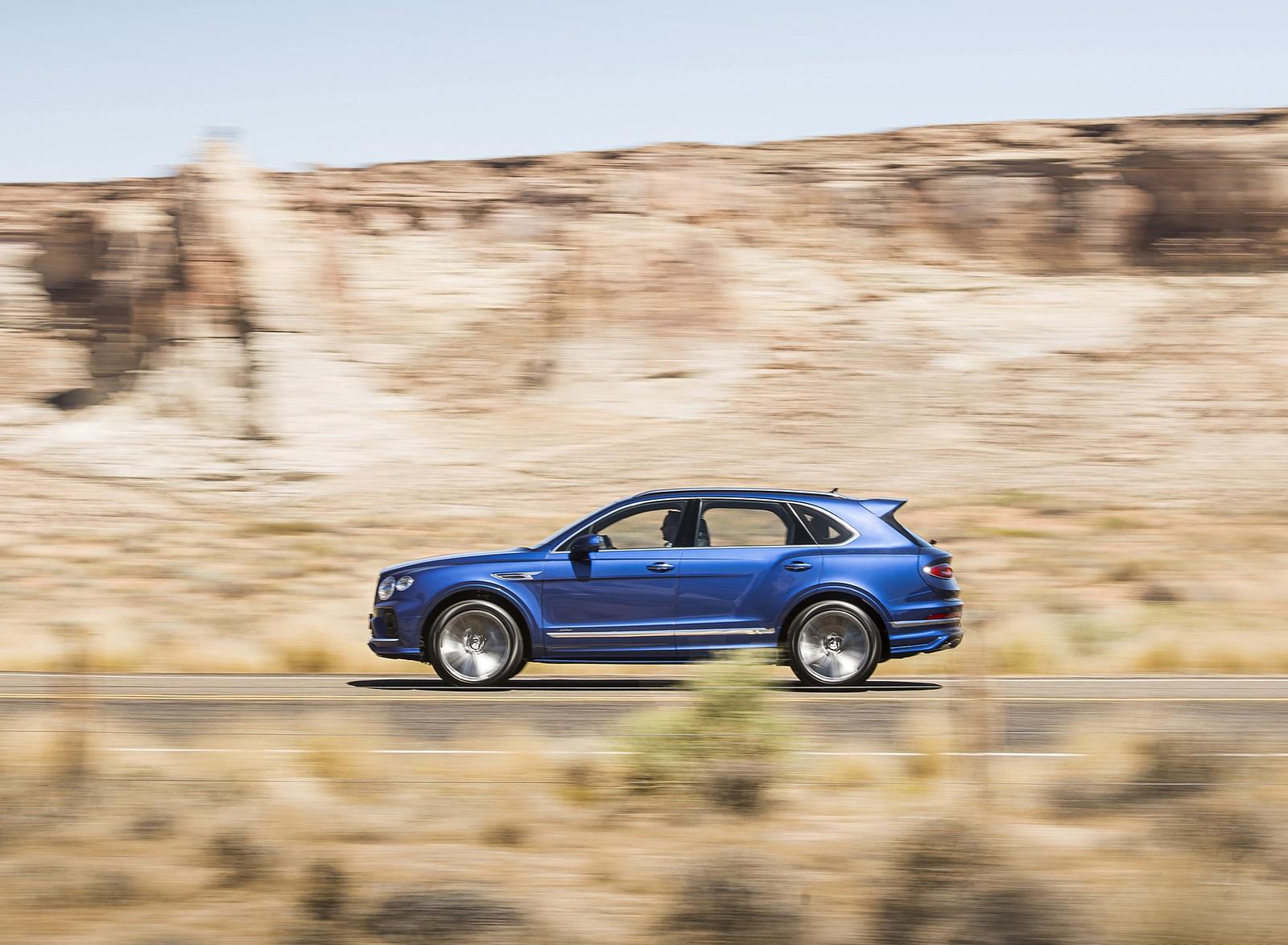 2021 Bentley Bentayga Speed Side Wallpapers (6)