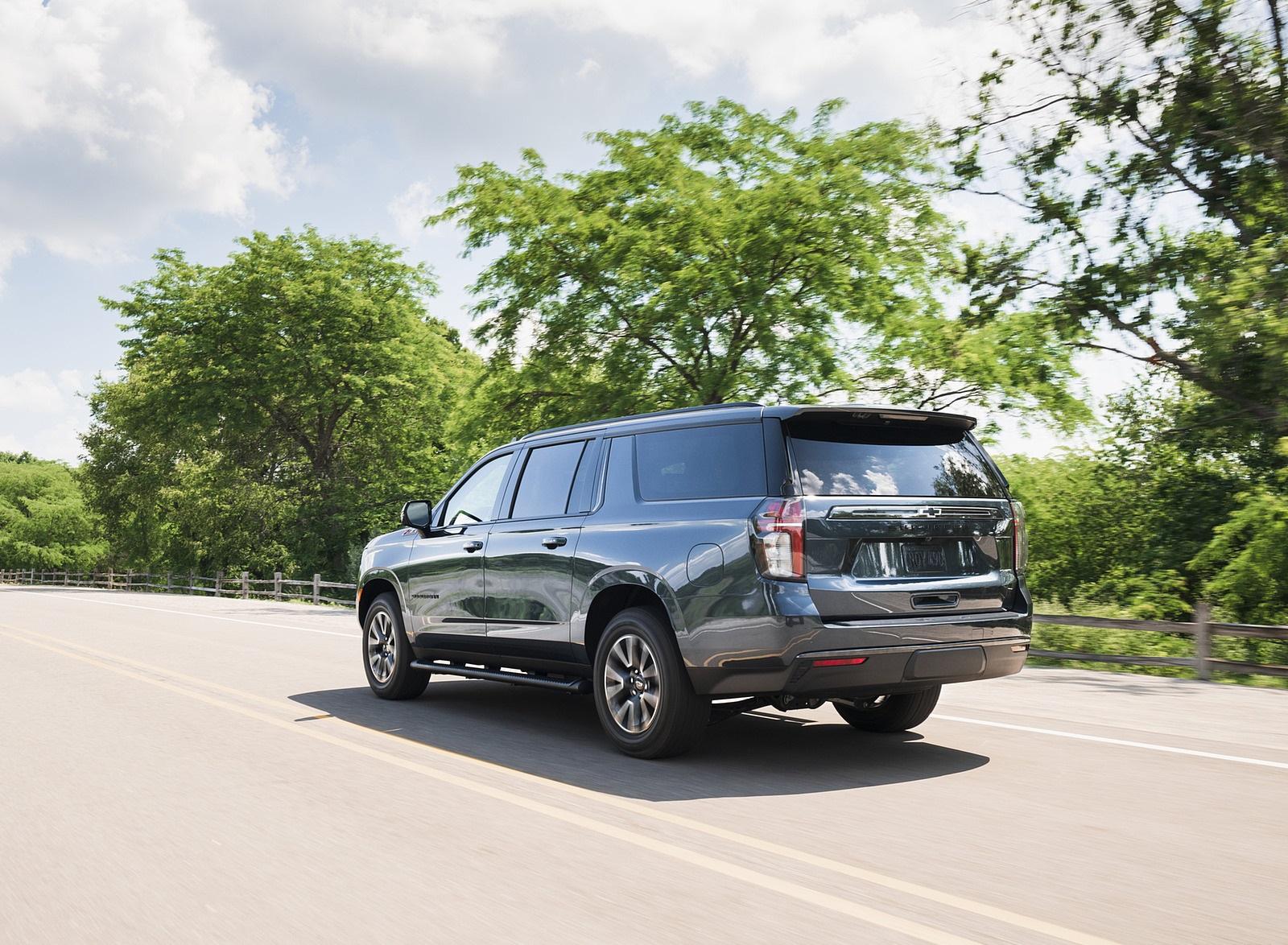 2021 Chevrolet Suburban Z71 Rear Three-Quarter Wallpapers (6)