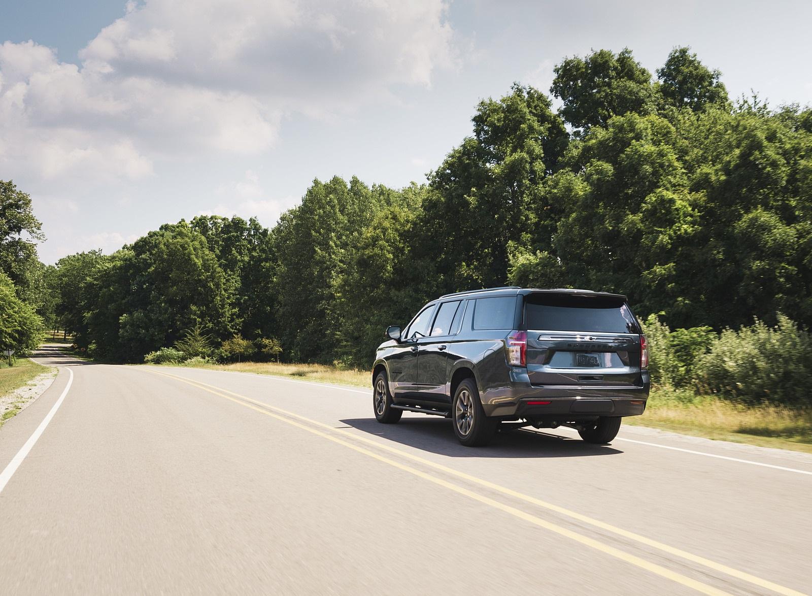 2021 Chevrolet Suburban Z71 Rear Three-Quarter Wallpapers (7)