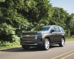 2021 Chevrolet Tahoe High Country Front Three-Quarter Wallpapers 150x120 (3)