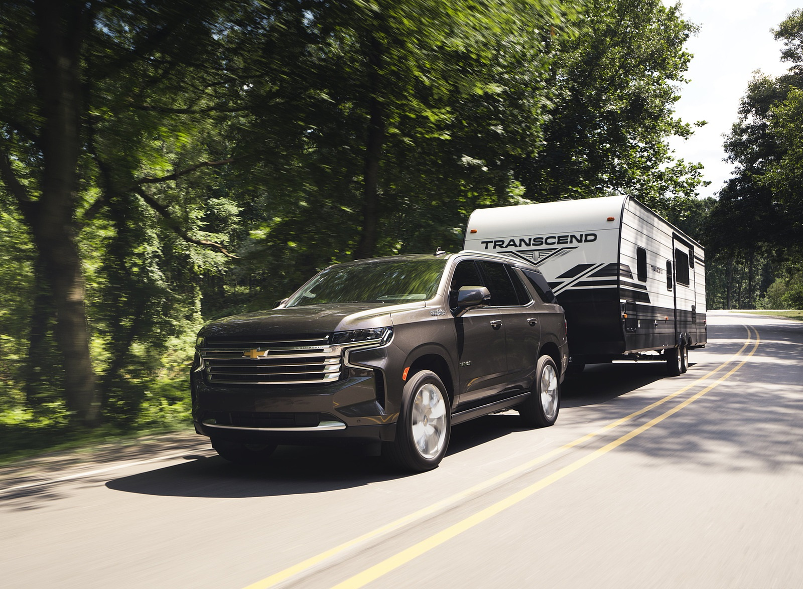 2021 Chevrolet Tahoe High Country Front Three-Quarter Wallpapers (4)