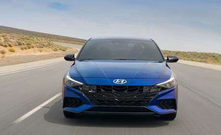 2021 Hyundai Elantra N Line Front Wallpapers 450x275 (2)