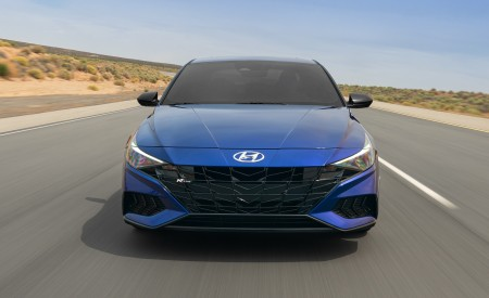 2021 Hyundai Elantra N Line Front Wallpapers 450x275 (3)