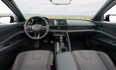2021 Hyundai Elantra N Line Interior Cockpit Wallpapers 450x275 (50)