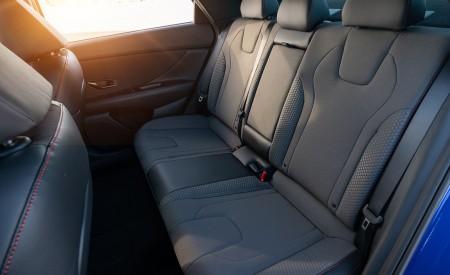 2021 Hyundai Elantra N Line Interior Rear Seats Wallpapers 450x275 (72)