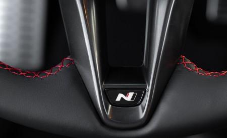 2021 Hyundai Elantra N Line Interior Steering Wheel Wallpapers 450x275 (48)