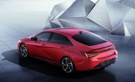 2021 Hyundai Elantra N Line Rear Three-Quarter Wallpapers 450x275 (82)