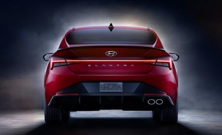 2021 Hyundai Elantra N Line Rear Wallpapers 450x275 (83)