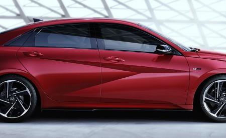 2021 Hyundai Elantra N Line Side Wallpapers 450x275 (85)