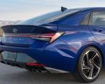 2021 Hyundai Elantra N Line Tail Light Wallpapers 150x120 (37)