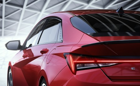 2021 Hyundai Elantra N Line Tail Light Wallpapers 450x275 (86)