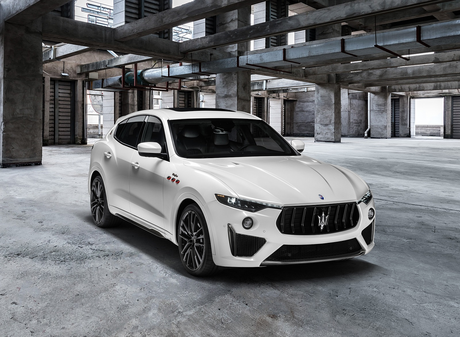 2021 Maserati Levante Trofeo Front Three-Quarter Wallpapers (6)