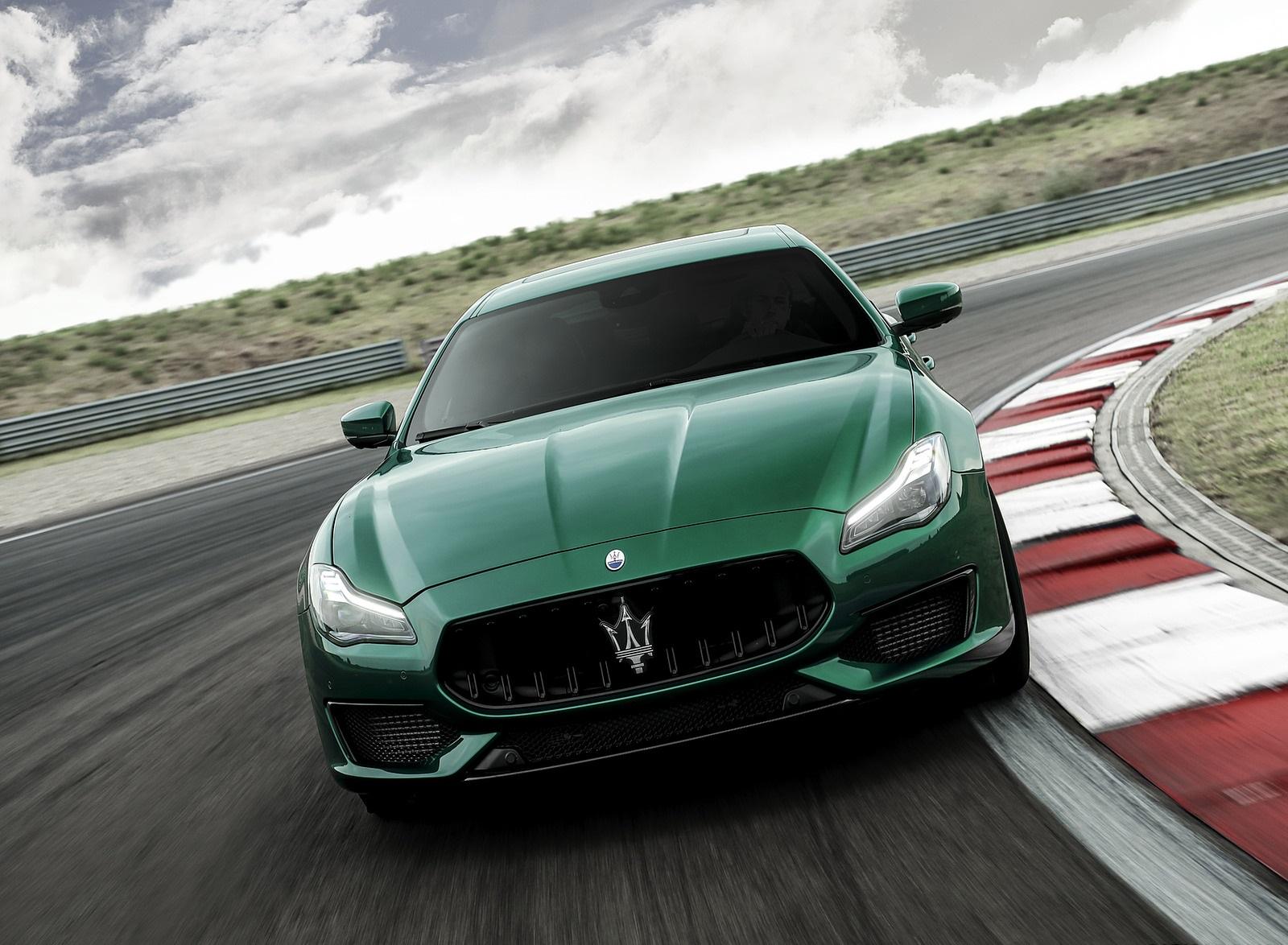 2021 Maserati Quattroporte Trofeo Front Wallpapers (1)