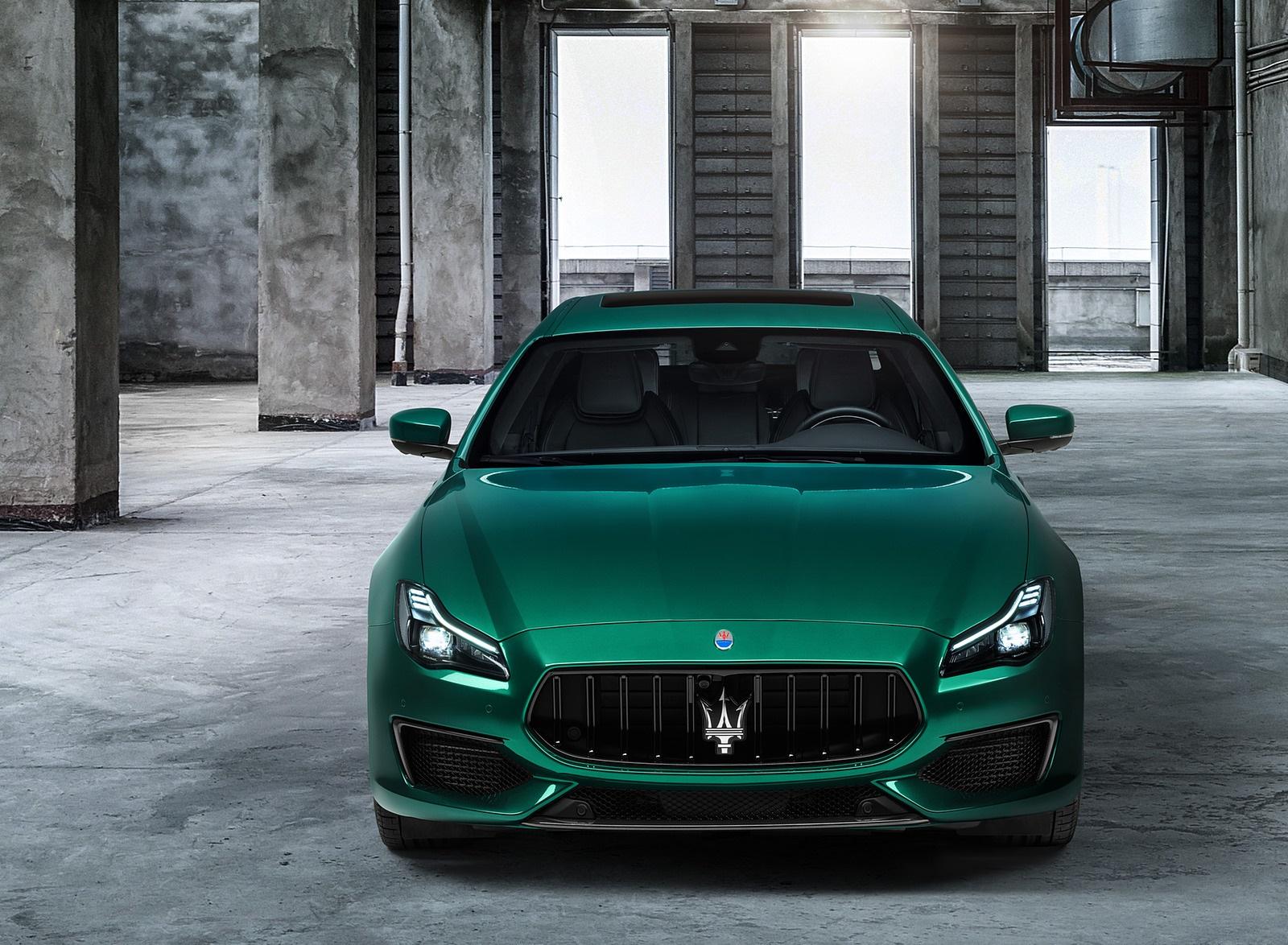2021 Maserati Quattroporte Trofeo Front Wallpapers (5)