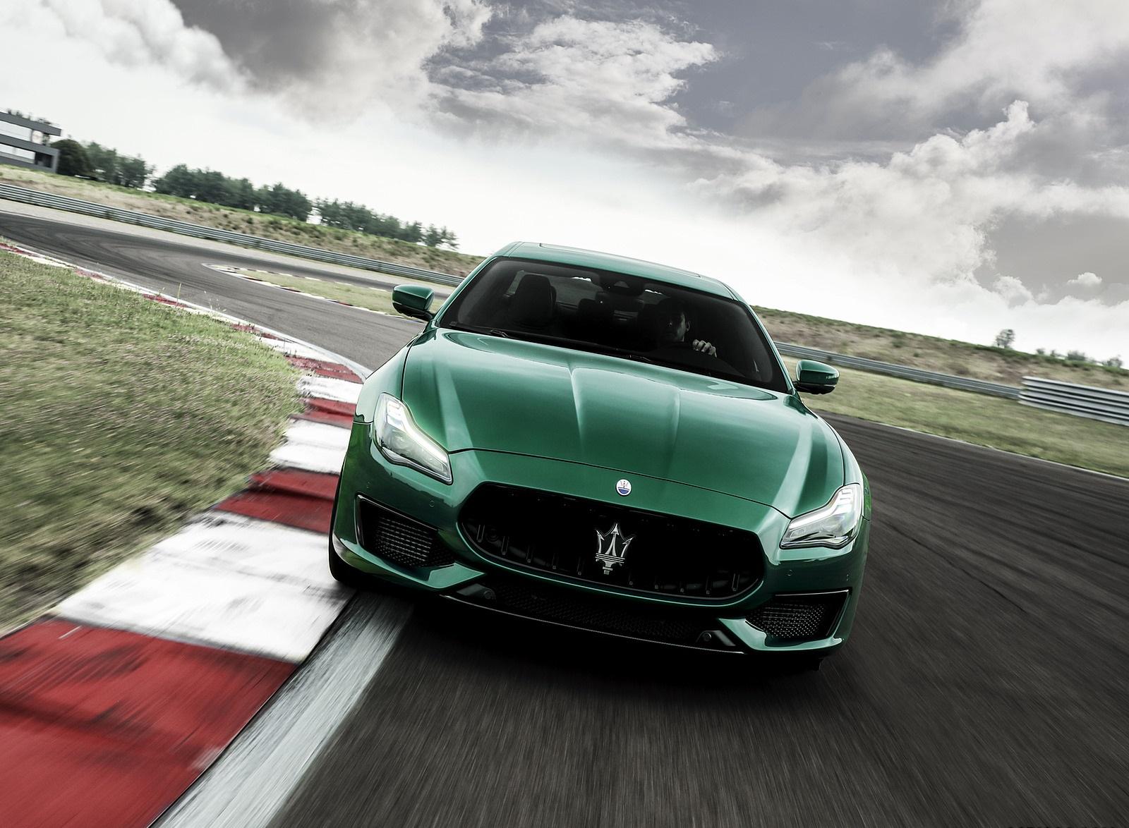 2021 Maserati Quattroporte Trofeo Front Wallpapers (2)