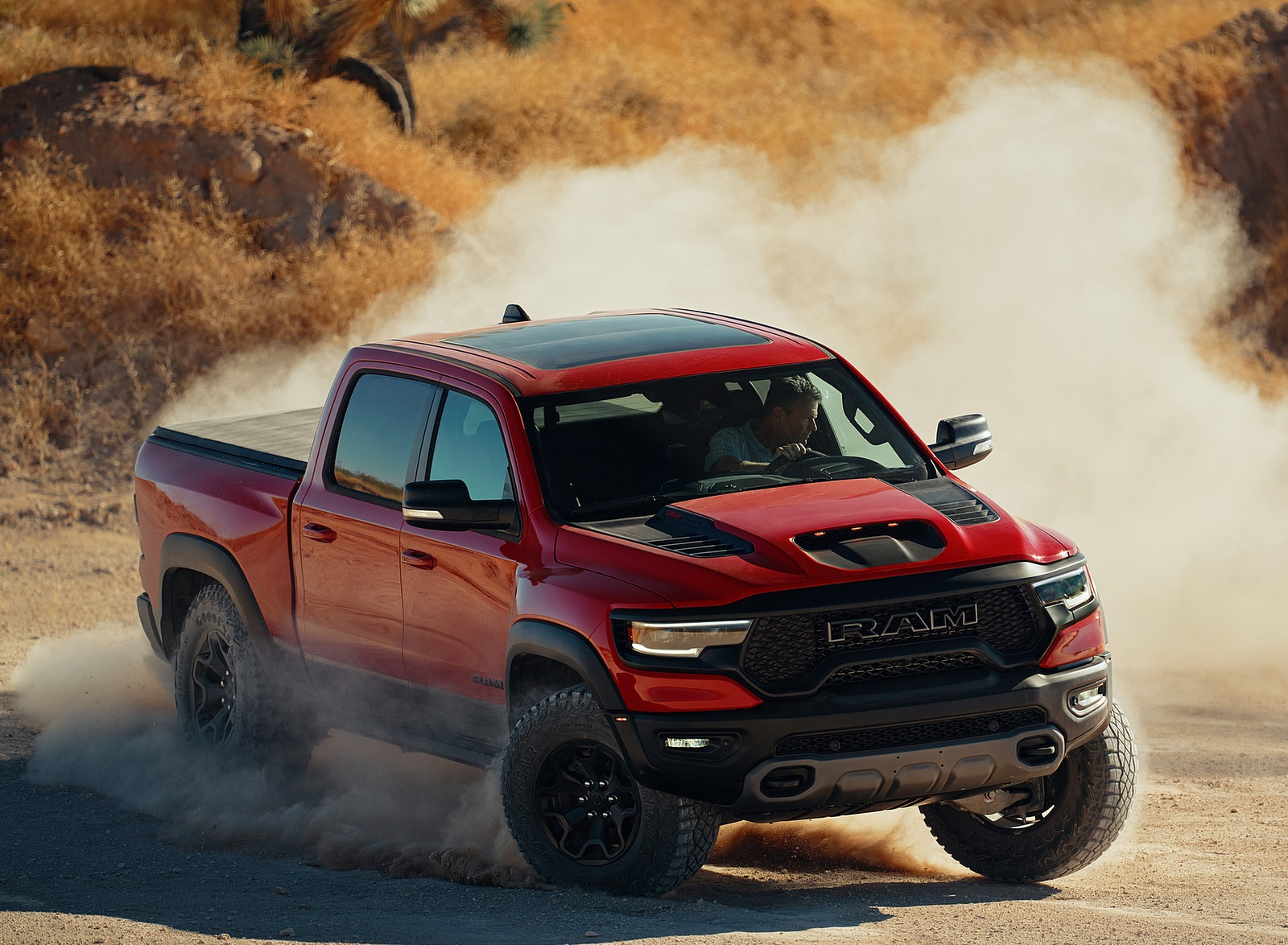 2021 Ram 1500 TRX Front Three-Quarter Wallpapers (1)
