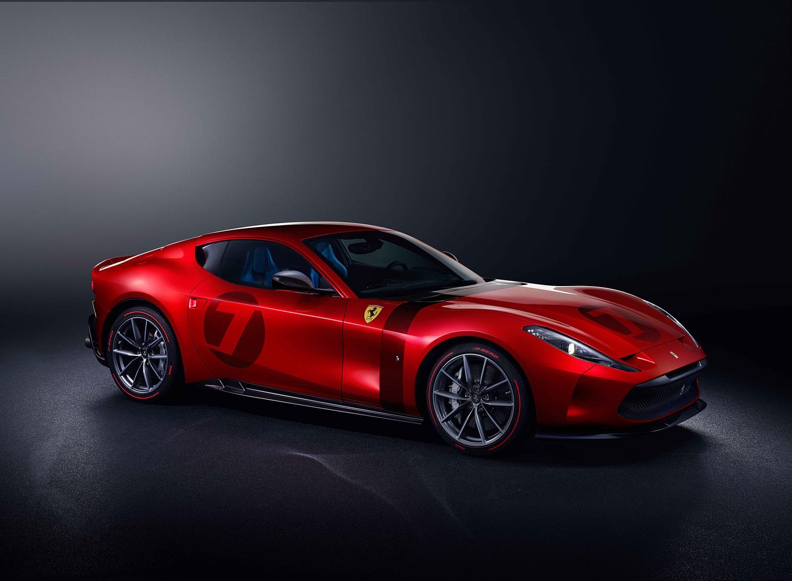2020 Ferrari Omologata Front Three-Quarter Wallpapers (1)