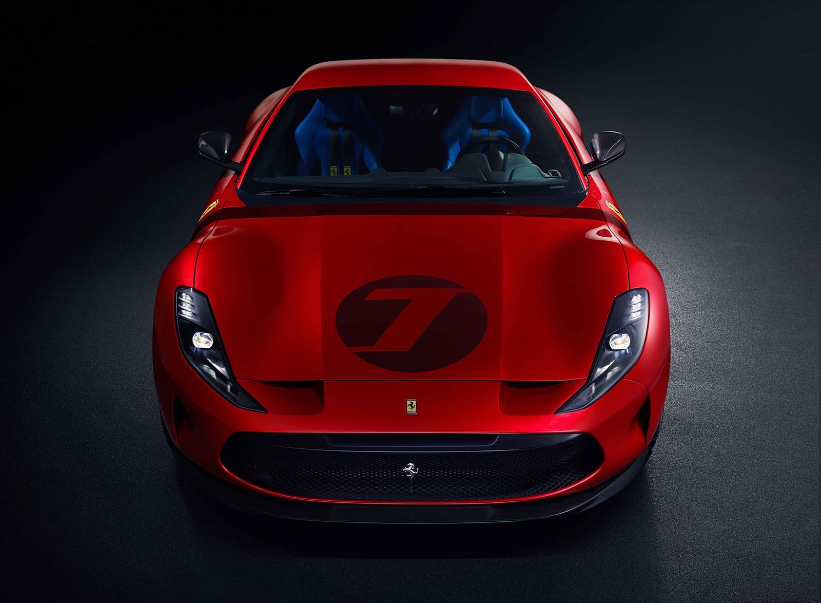 2020 Ferrari Omologata Front Wallpapers (2)