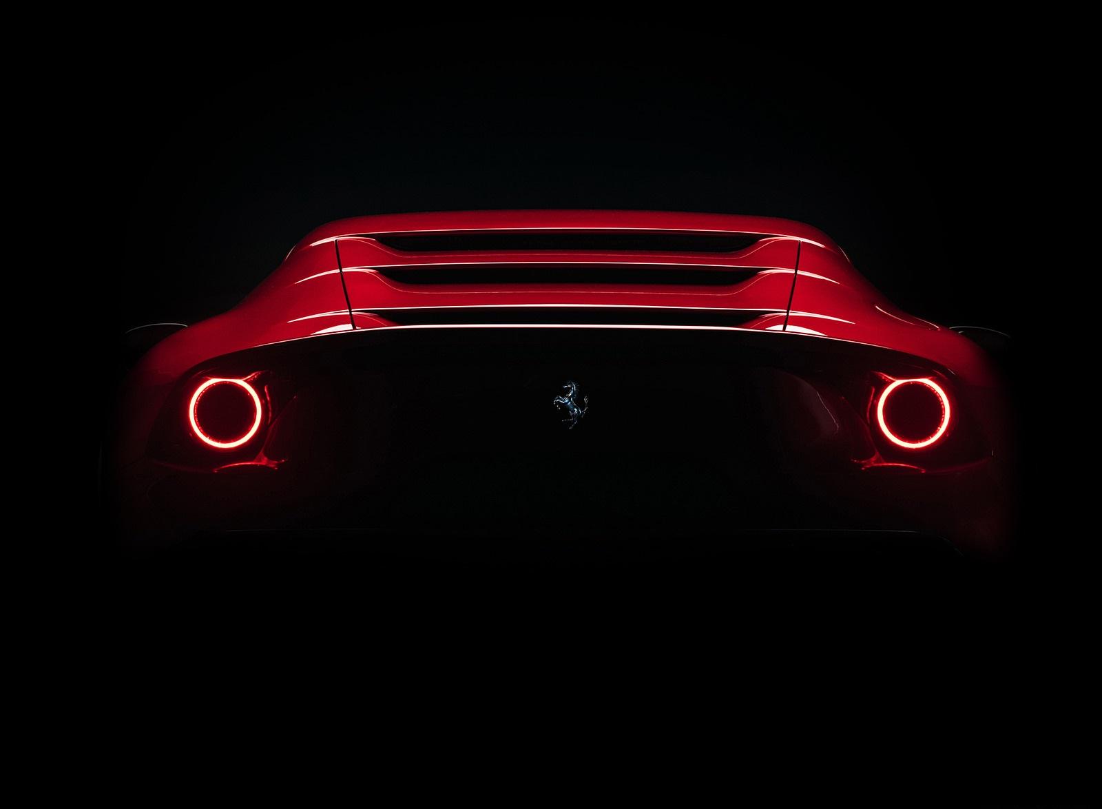 2020 Ferrari Omologata Rear Wallpapers (4)