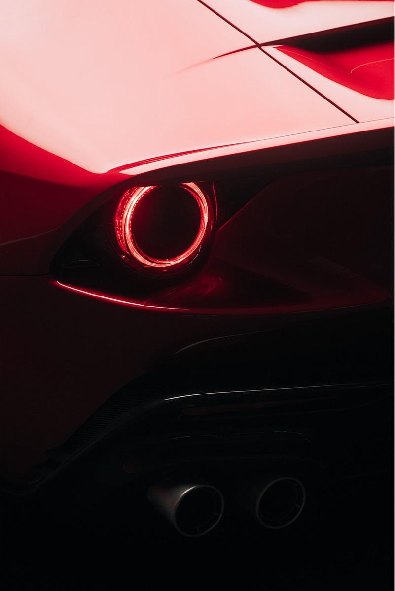 2020 Ferrari Omologata Tail Light Wallpapers (9)