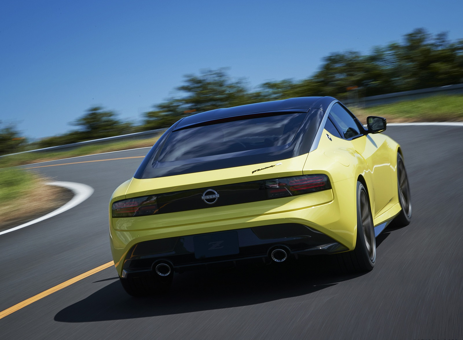2020 Nissan Z Proto Concept Rear Wallpapers (6)