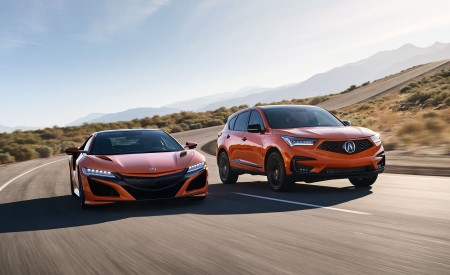 2021 Acura RDX PMC Edition and Acura NSX Wallpapers 450x275 (1)