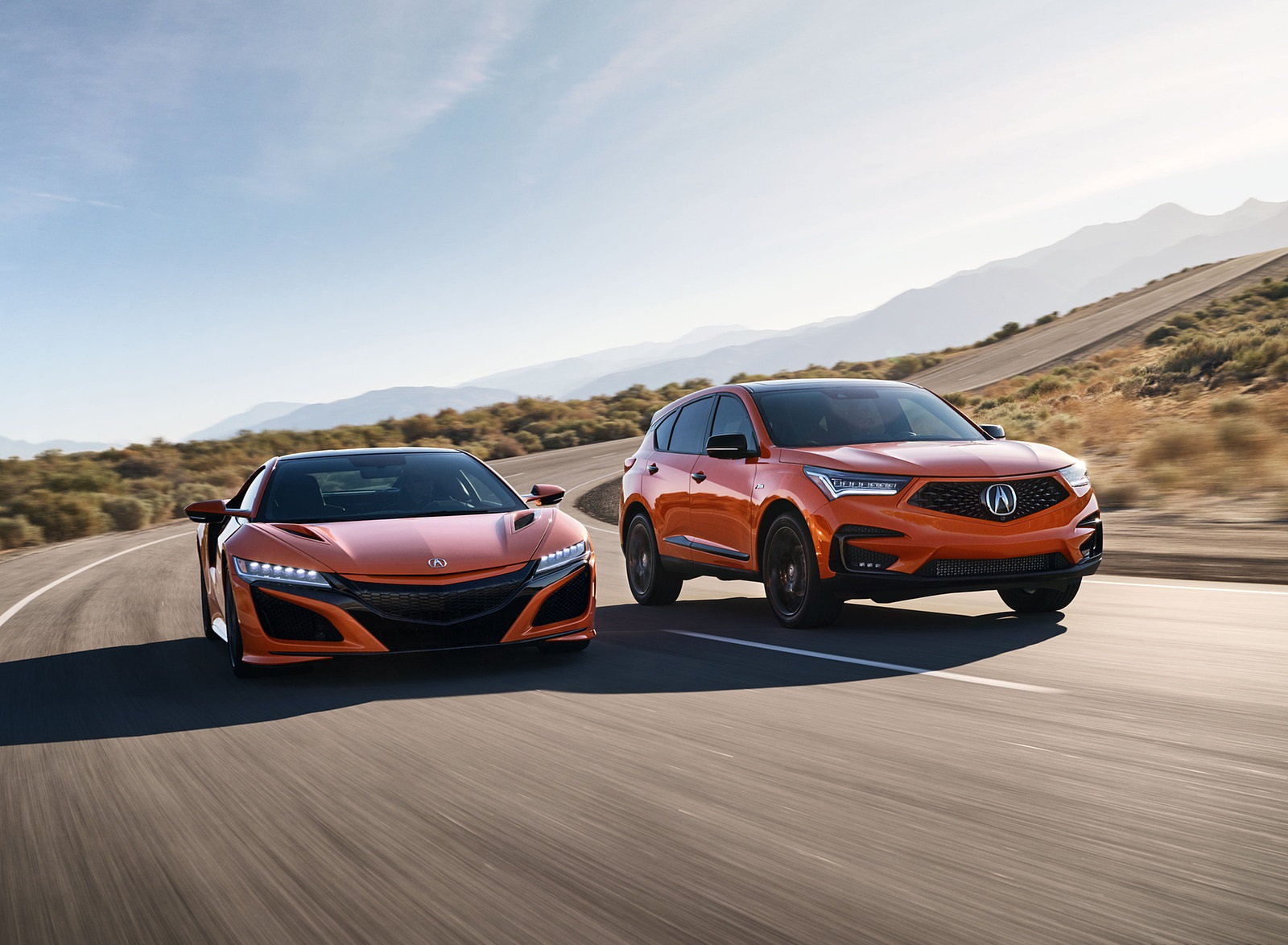 2021 Acura RDX PMC Edition and Acura NSX Wallpapers (1)