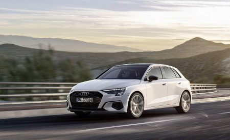 2021 Audi A3 Sportback 30 G-tron Wallpapers HD
