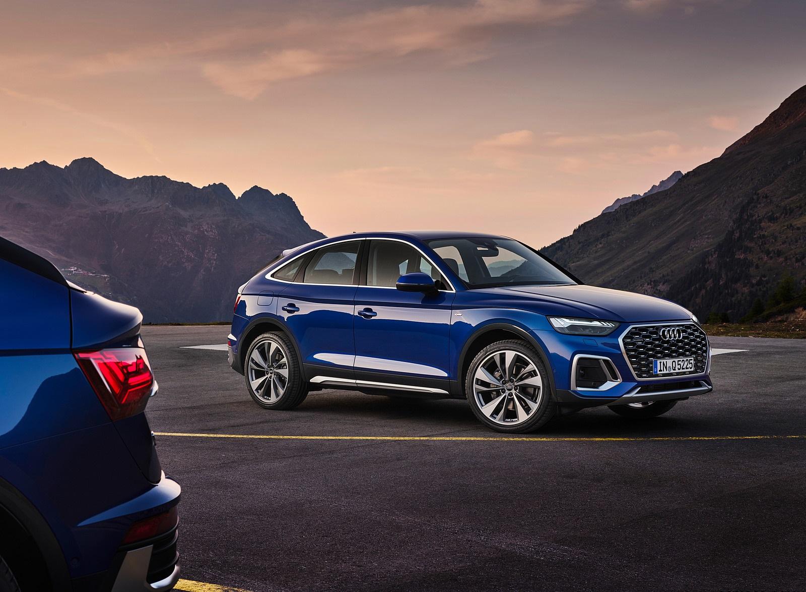 2021 Audi Q5 Sportback Front Three-Quarter Wallpapers (5)