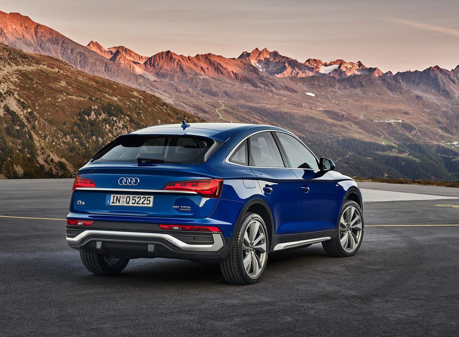 2021 Audi Q5 Sportback Rear Three-Quarter Wallpapers (7)
