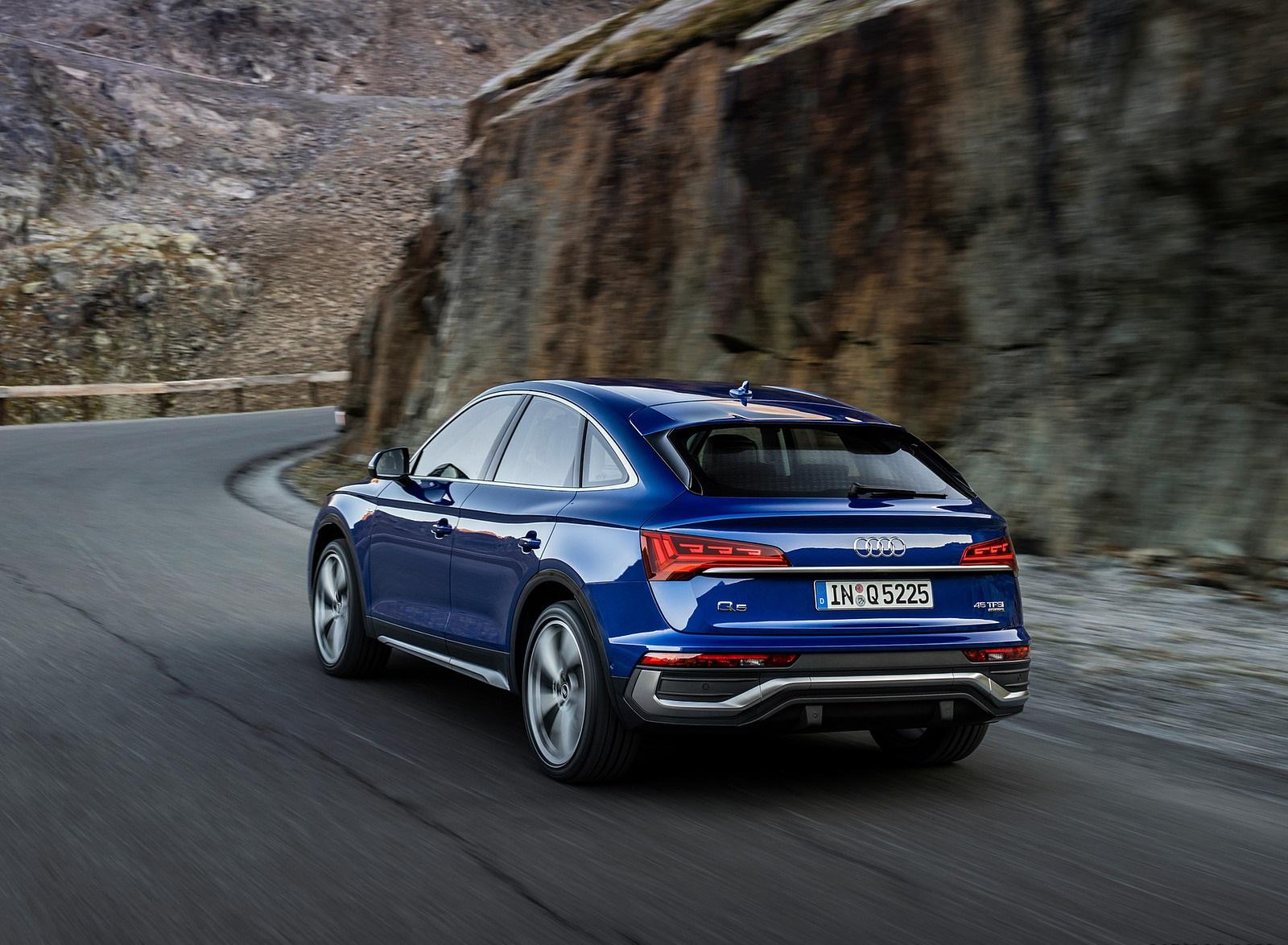 2021 Audi Q5 Sportback Rear Three-Quarter Wallpapers (2)