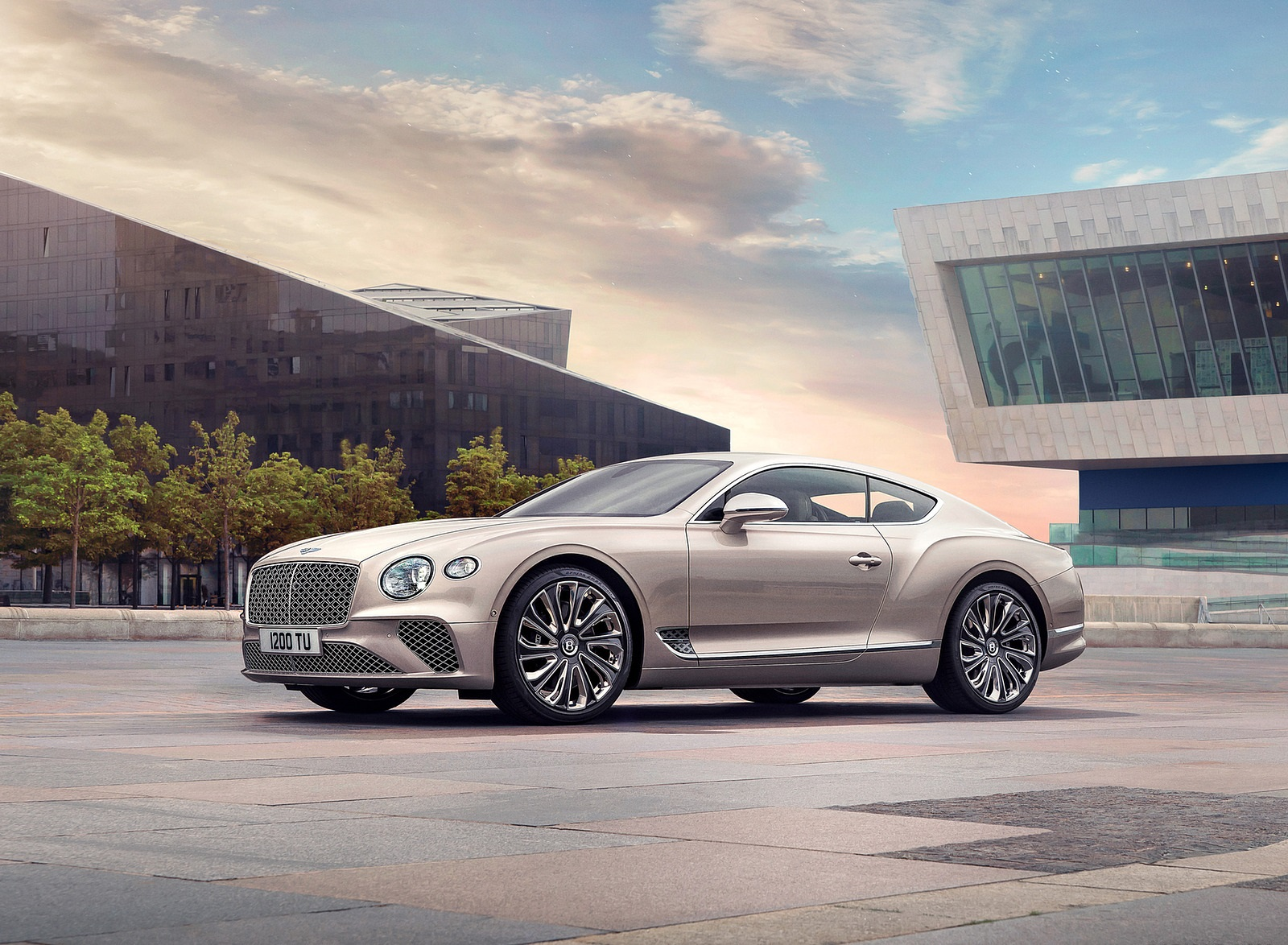 2021 Bentley Continental GT Mulliner Front Three-Quarter Wallpapers (4)