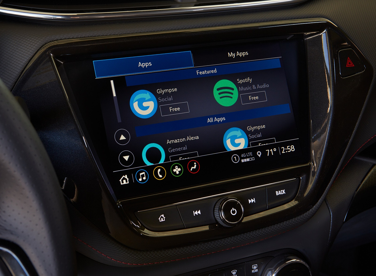 2021 Chevrolet Trailblazer RS Central Console Wallpapers (7)
