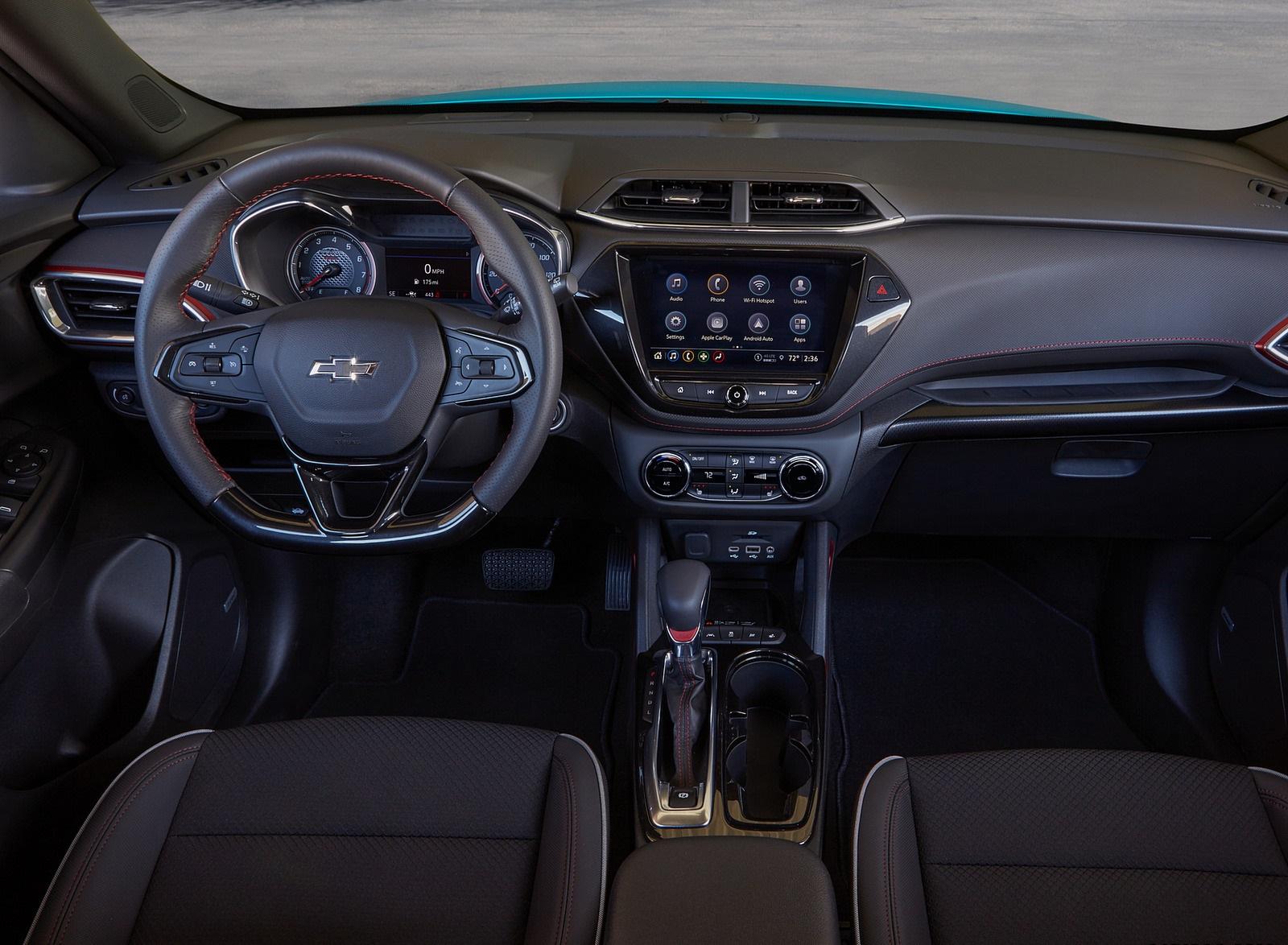 2021 Chevrolet Trailblazer RS Interior Cockpit Wallpapers (8)
