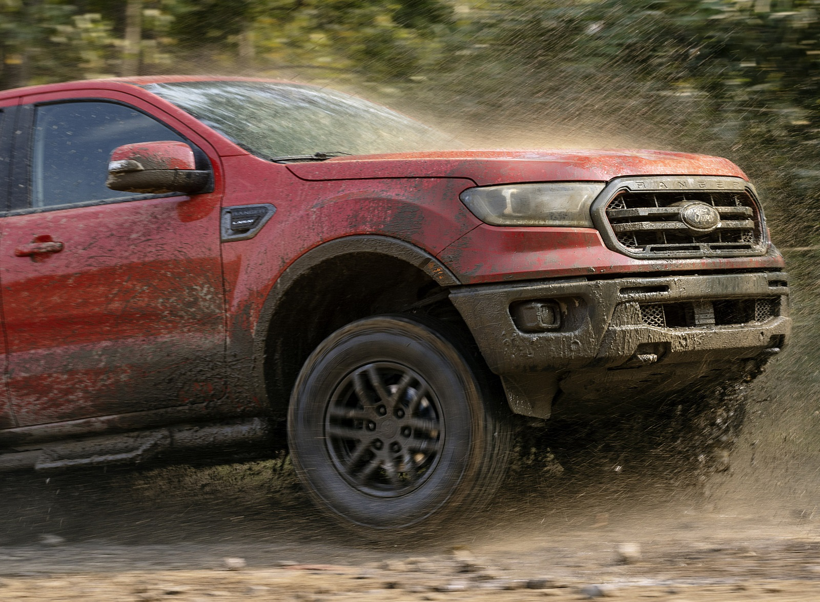2021 Ford Ranger Tremor Off-Road Package Lariat Detail Wallpapers (7)