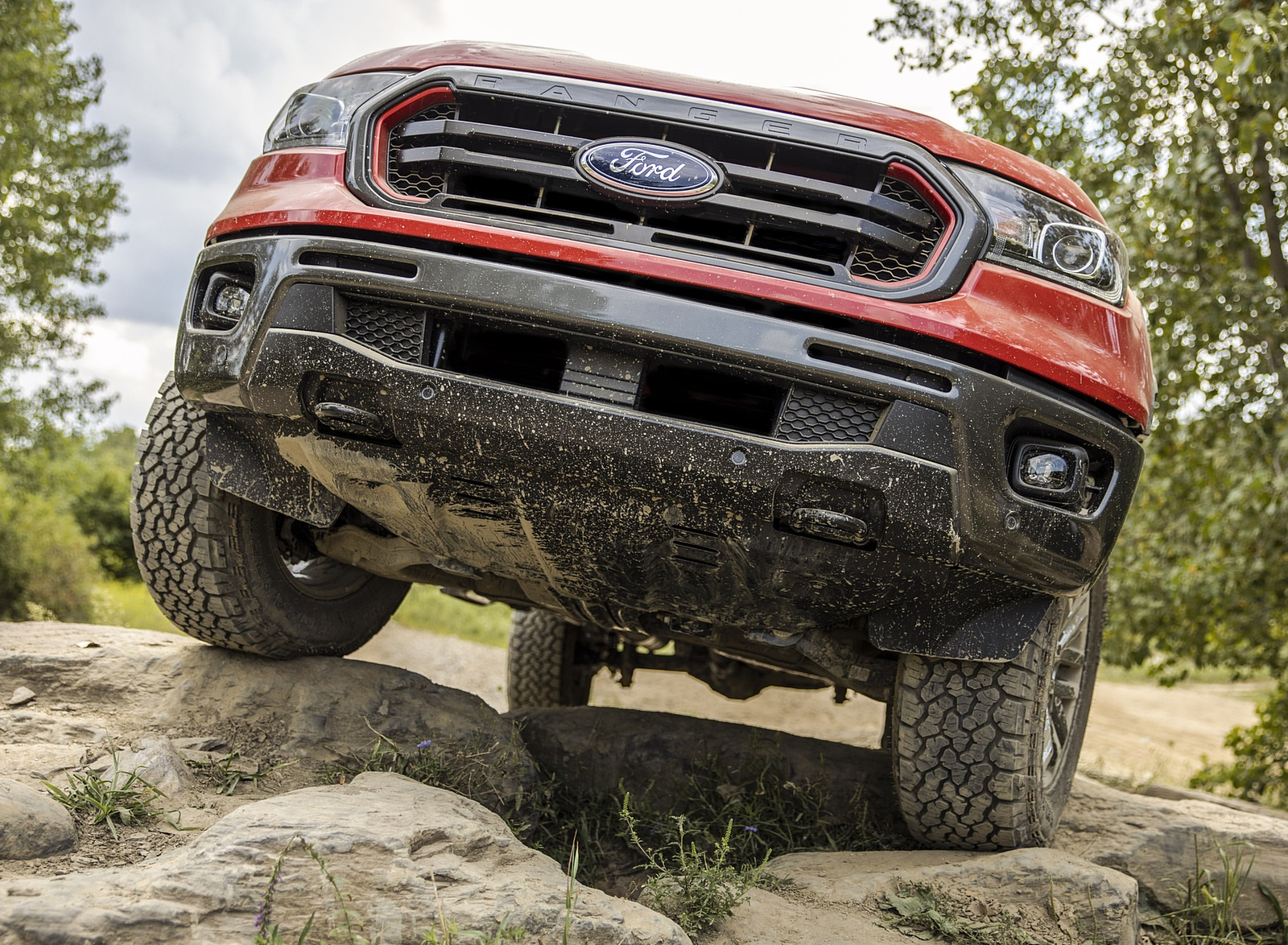 2021 Ford Ranger Tremor Off-Road Package Lariat Front Wallpapers (6)
