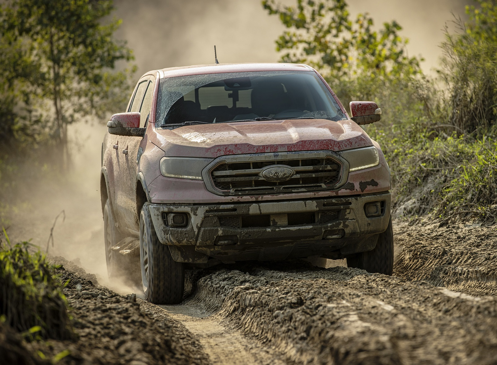 2021 Ford Ranger Tremor Off-Road Package Lariat Front Wallpapers (2)
