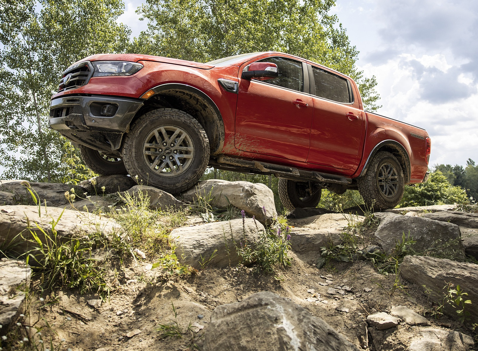 2021 Ford Ranger Tremor Off-Road Package Lariat Off-Road Wallpapers  (3)
