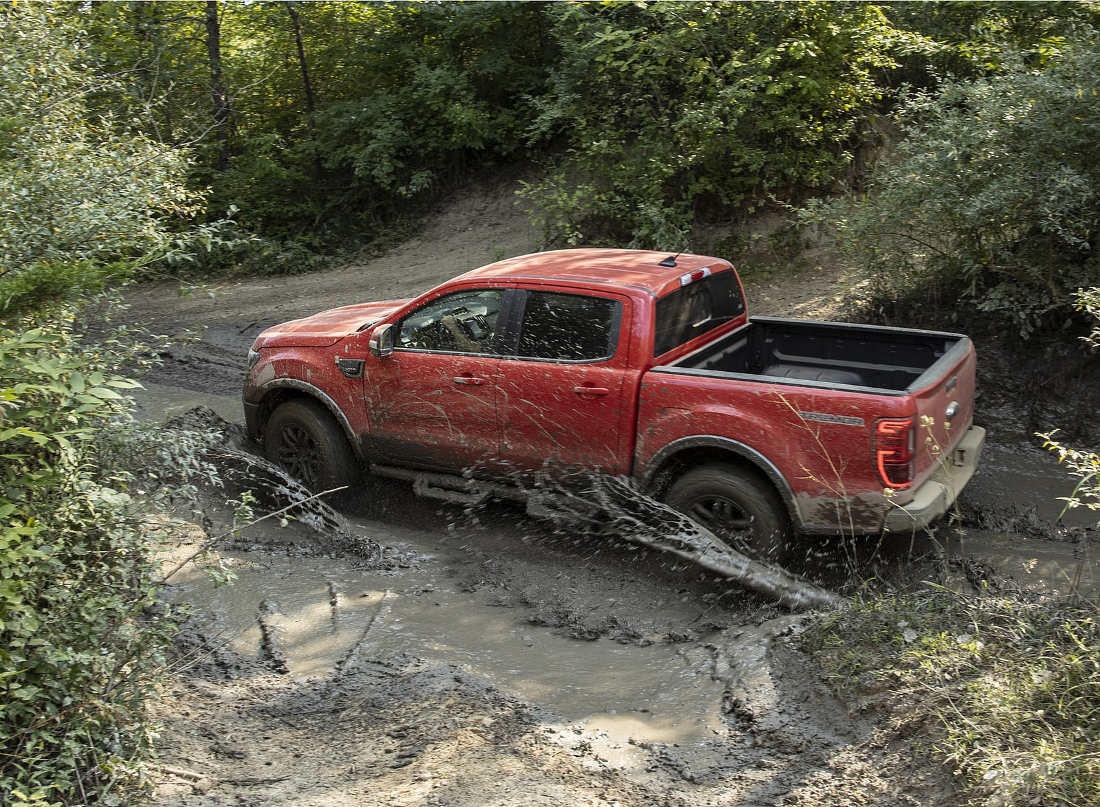 2021 Ford Ranger Tremor Off-Road Package Lariat Off-Road Wallpapers (4)
