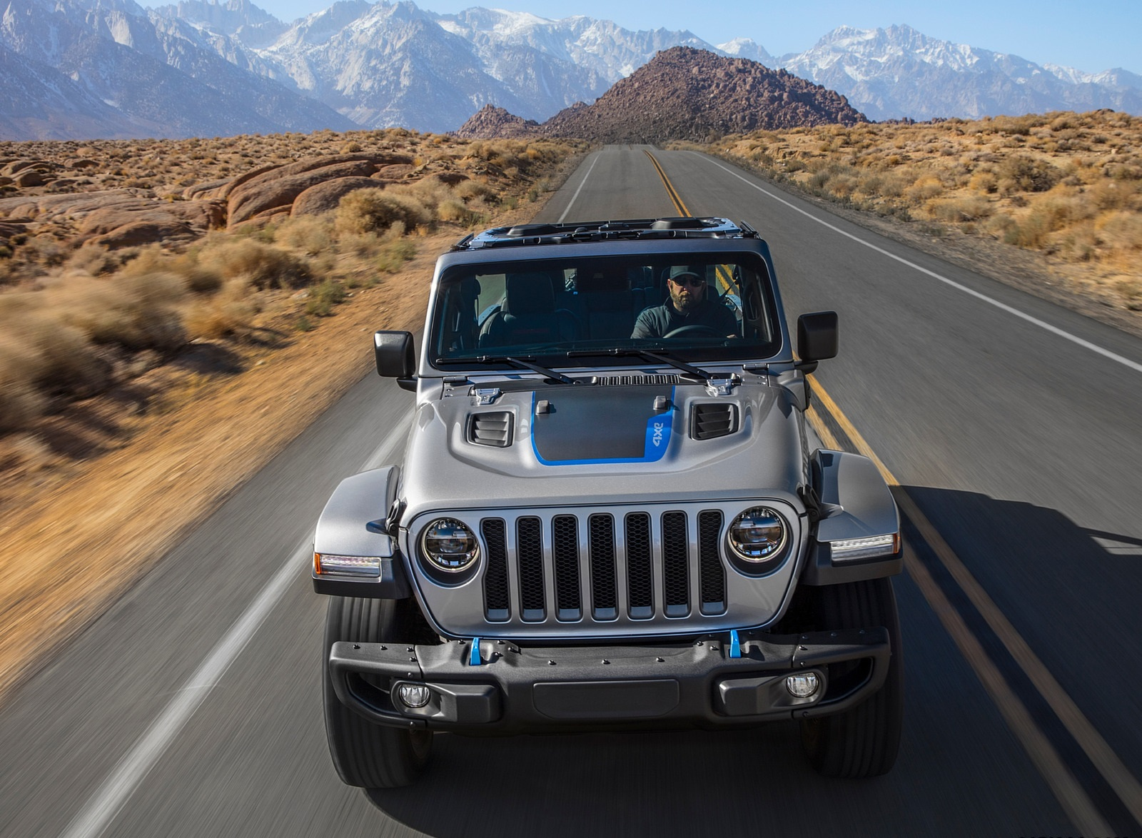 2021 Jeep Wrangler 4xe Plug-In Hybrid Front Wallpapers (10)