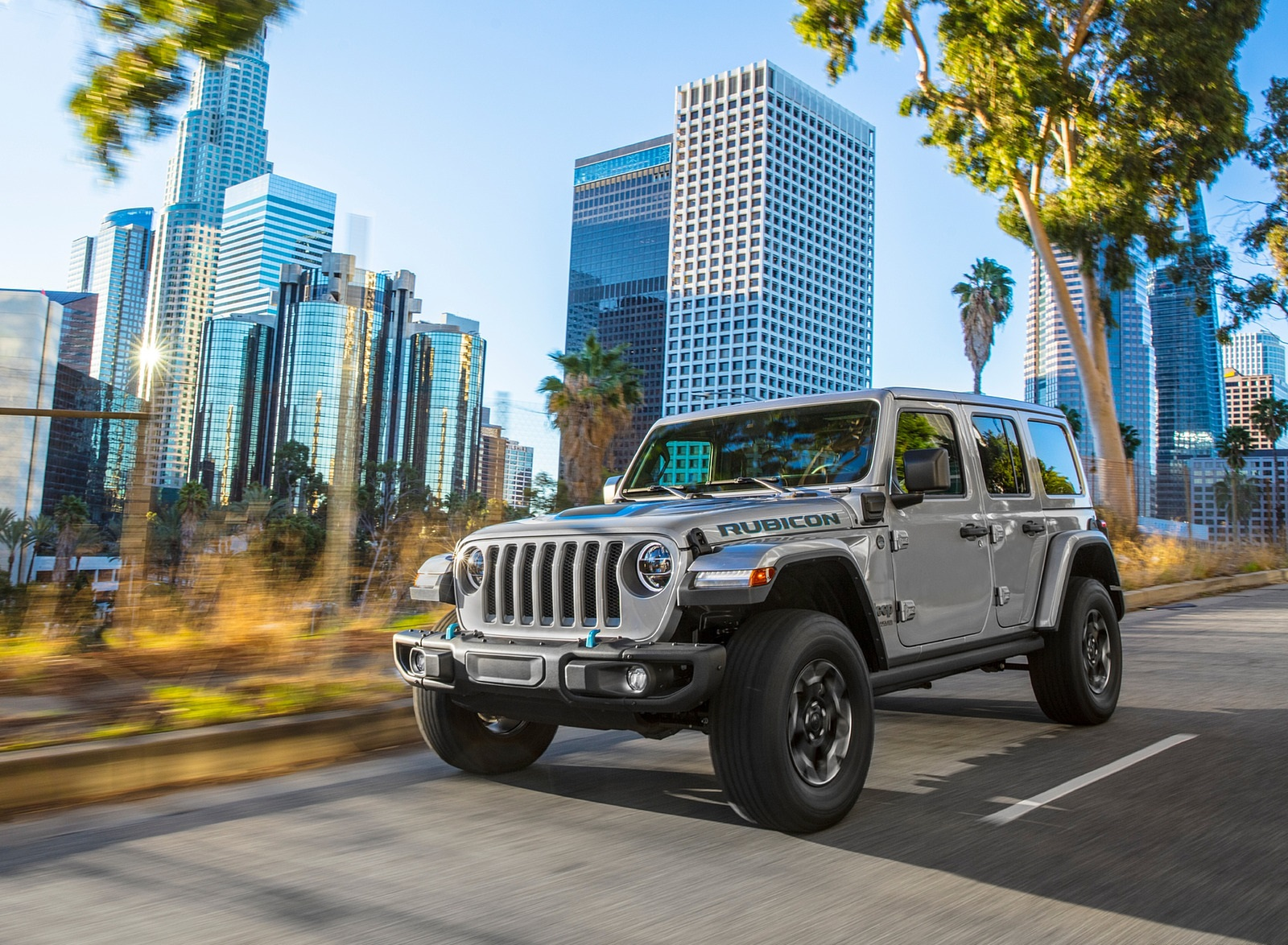 2021 Jeep Wrangler 4xe Plug-In Hybrid Front Wallpapers (1)