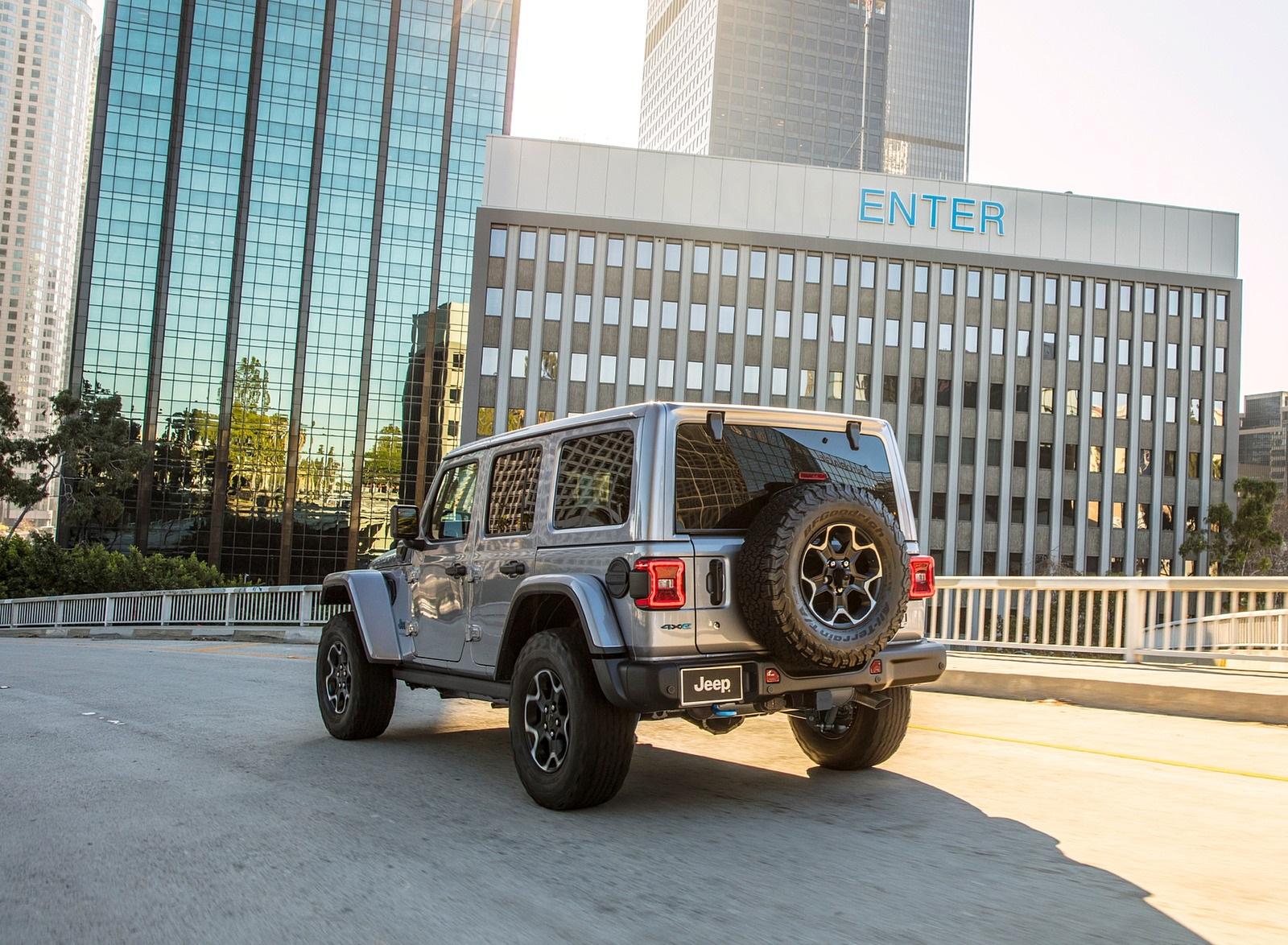 2021 Jeep Wrangler 4xe Plug-In Hybrid Rear Three-Quarter Wallpapers (5)