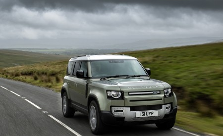 2021 Land Rover Defender Plug-In Hybrid Wallpapers HD