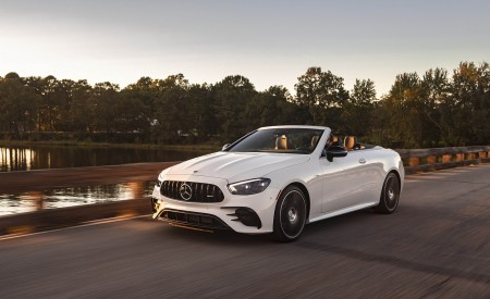 2021 Mercedes-AMG E 53 Cabriolet Wallpapers HD